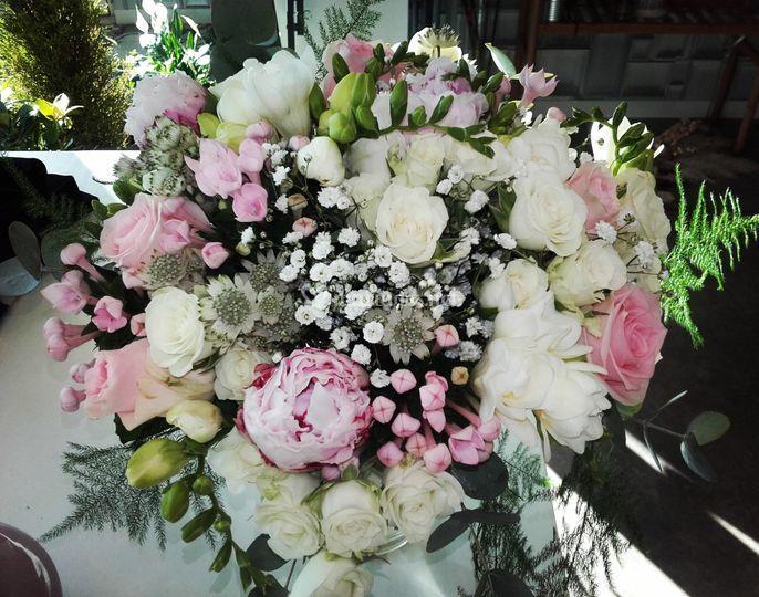Bouquet de mariée de T&G
