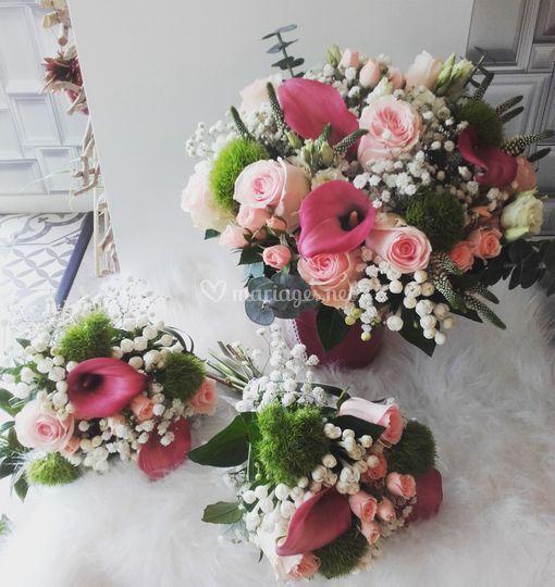 Bouquet de mariée de S&M
