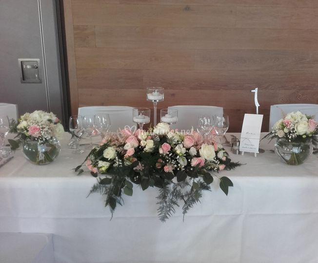 Table d'honneur de F&Y