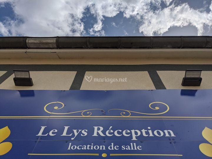 Le Lys Réception