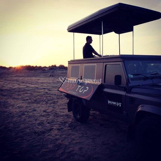 Le Dj Truck en Camargue