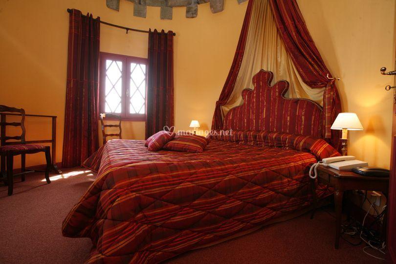 Chambre  dans la tour