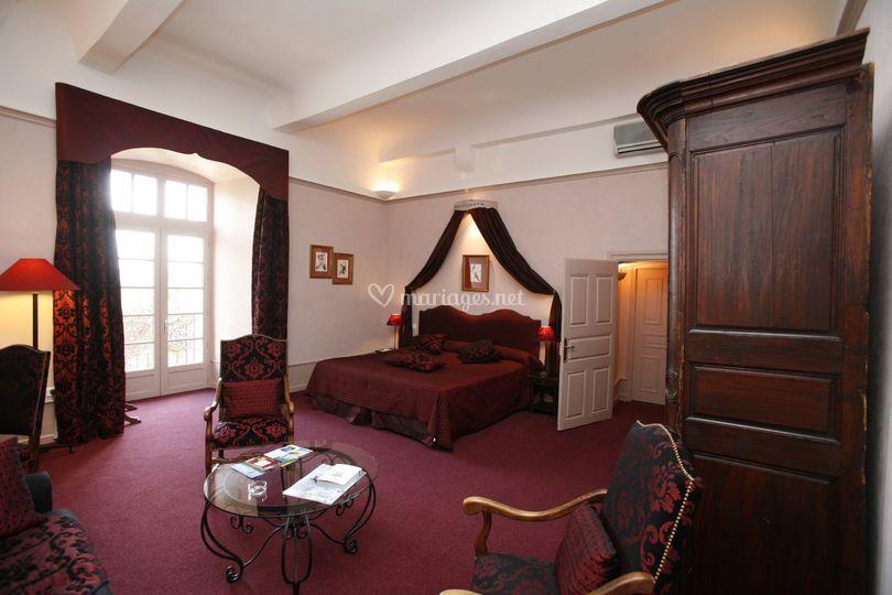 Grande chambre chateau
