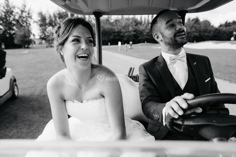 Mariage golf Bellefontaine