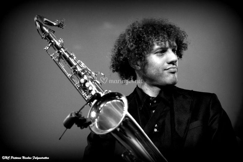Olivier Hoarau saxophoniste