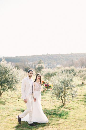 Mariage A&A en Provence
