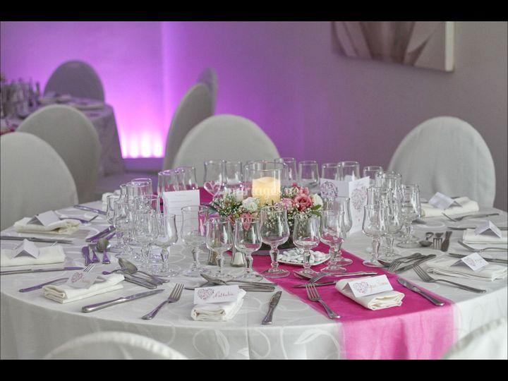 Mariage sur Restaurant La Louisia