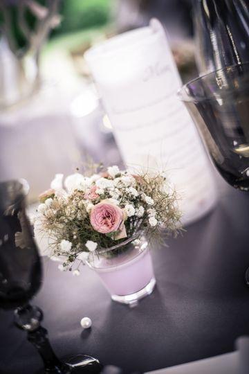 Fleurs sur le thème vintage