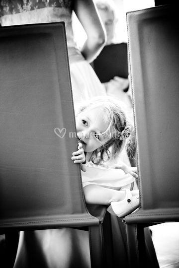 Enfant pendant le mariage