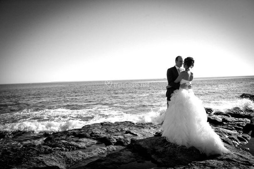 Séance couple plage