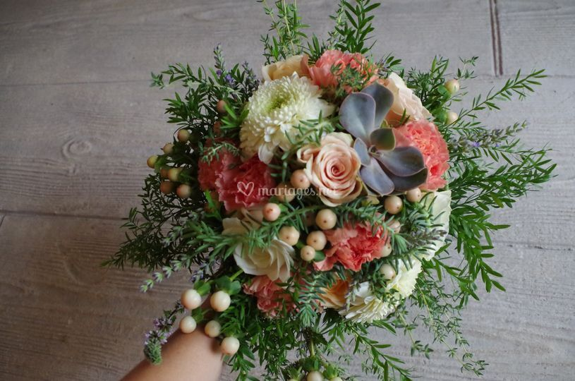 "Bouquet "" Bohème nature"""