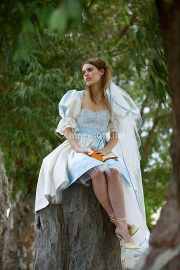 Robe de mariée marquise