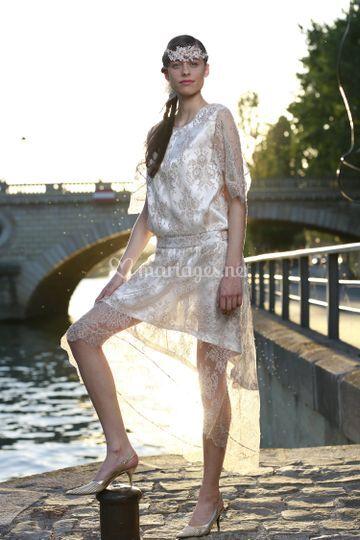 Charleston - robe de mariée