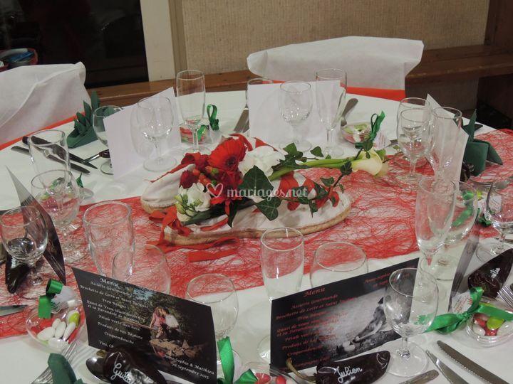 Table espadrille