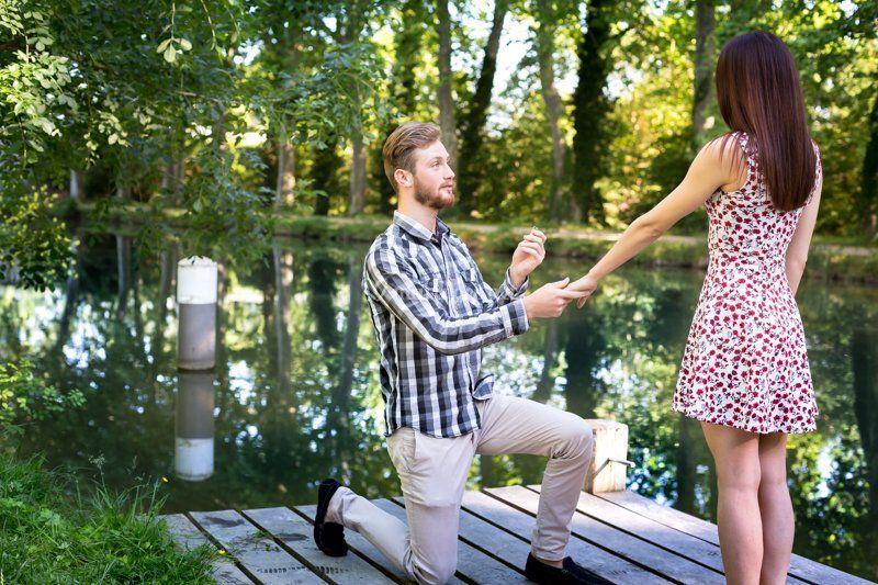 Complice de demande en mariage