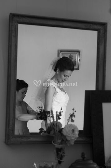 Robe miroir
