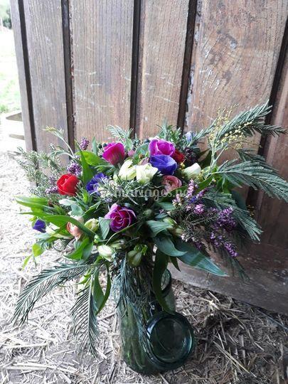 Bouquet de mariée - Hiver