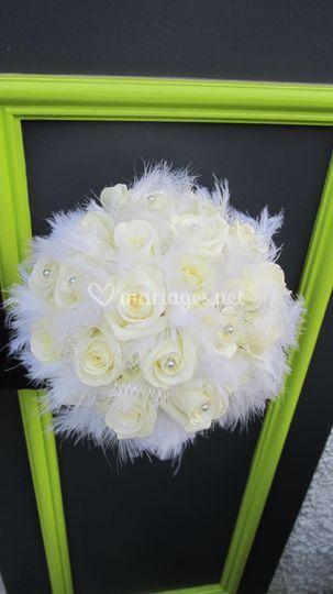 Bouquet plume