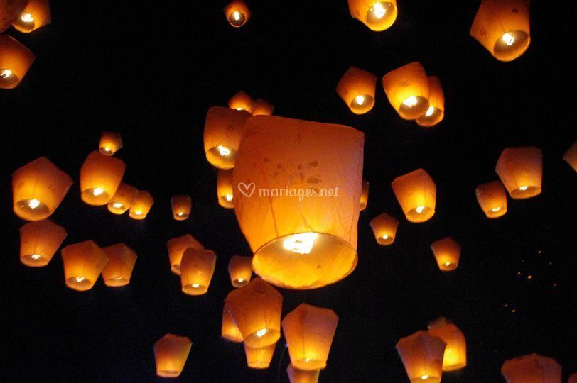 lanterne volante mariage - Lanterne Volante Mariage