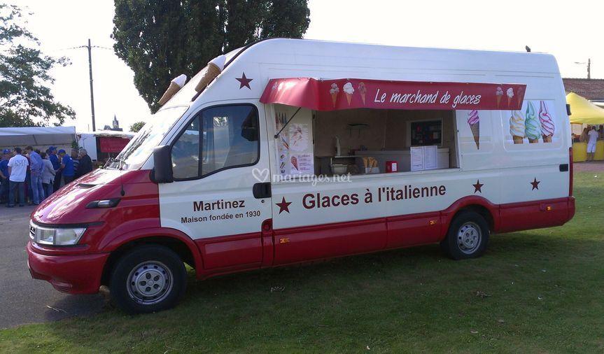 Foodtruck glace italienne