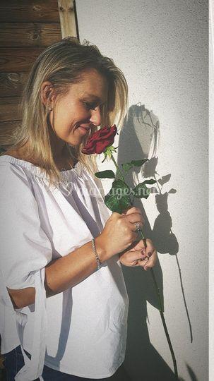 Caroline, artisan fleuriste