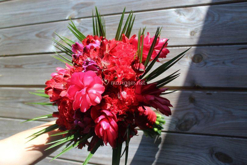 Bouquet de mariée marie