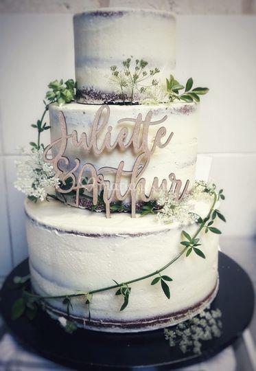 Gâteau Juliette et Arthur