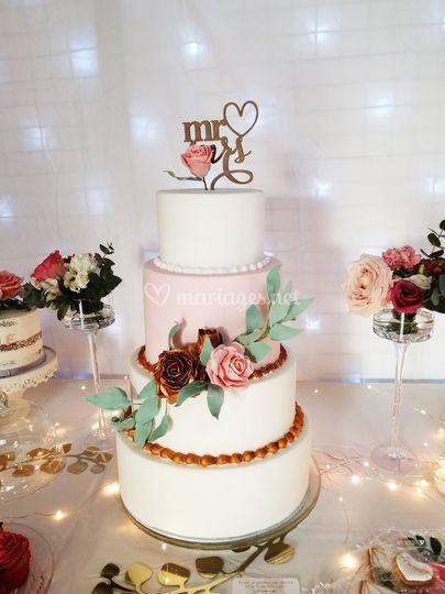 Wedding Cake Pâte à Sucre