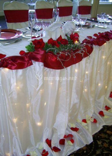 Table d 'honneur