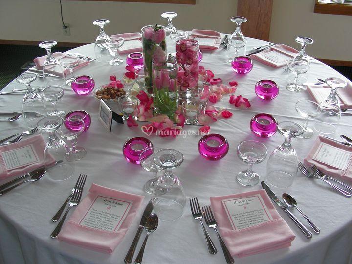 Table belle et simple