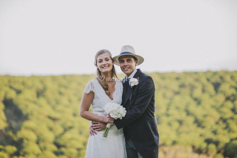 Mariés en été