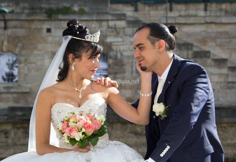 Mariage en bord de Seine