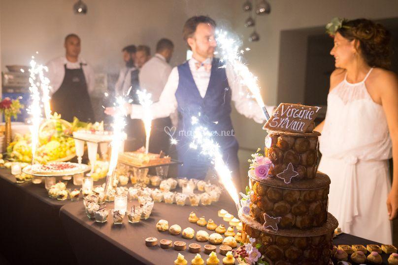 Le grand buffet de desserts
