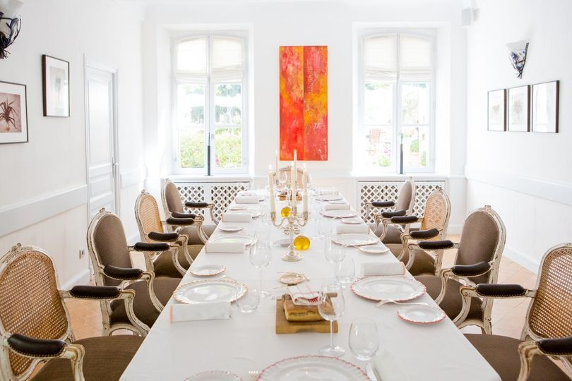 Salle privative au restaurant