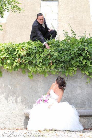 Mariés mise en scène