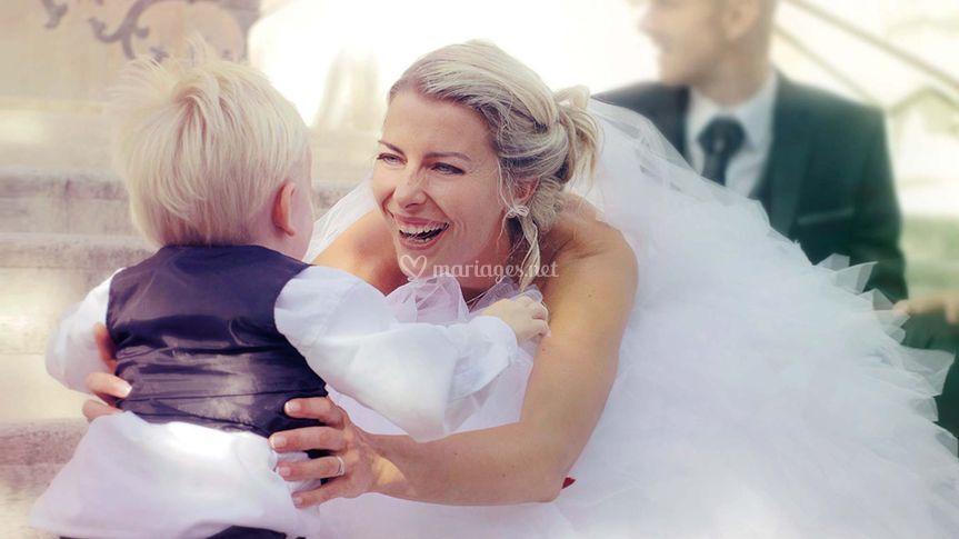 Nancy et son fils, un bonheur