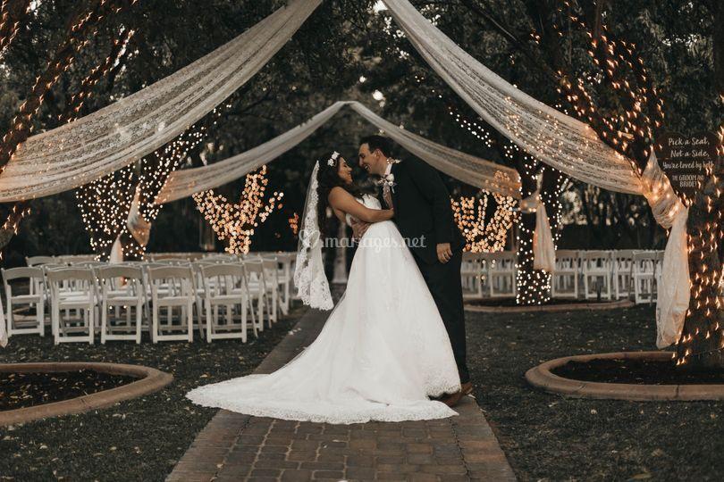 Mariage en extérieur