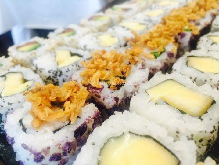 Plateau sushis