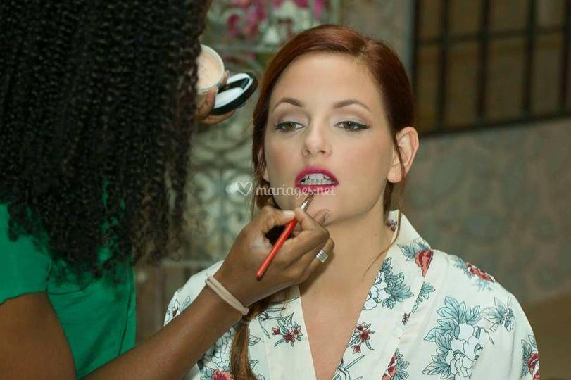 Makeup mariée 2017