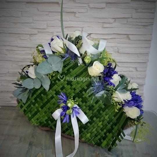 Bouquet de mariée comtemporain