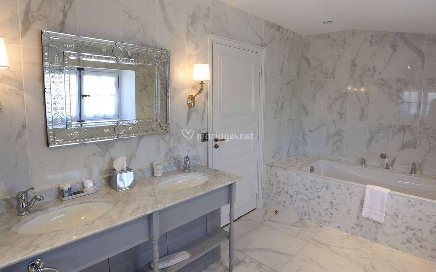 Salle-de-bain suite duplex prestige