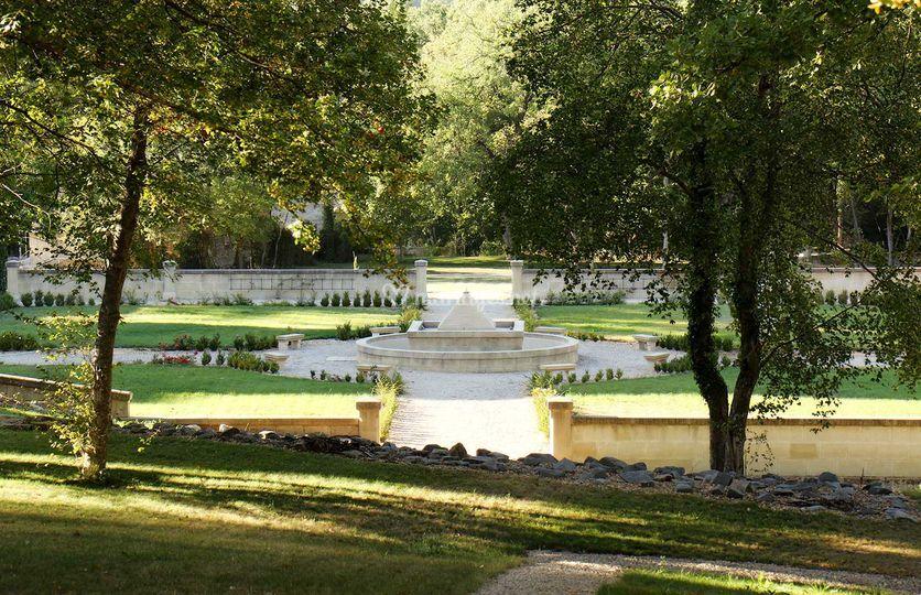 Jardins Château de Pondres
