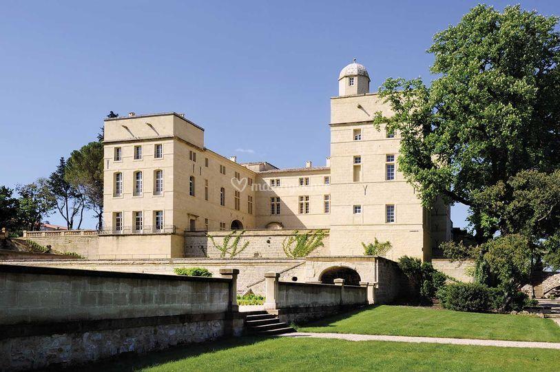 Château de Pondres Extérieur