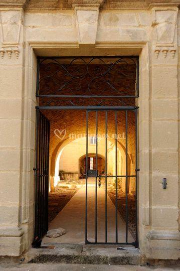 Entrée Château de Pondres