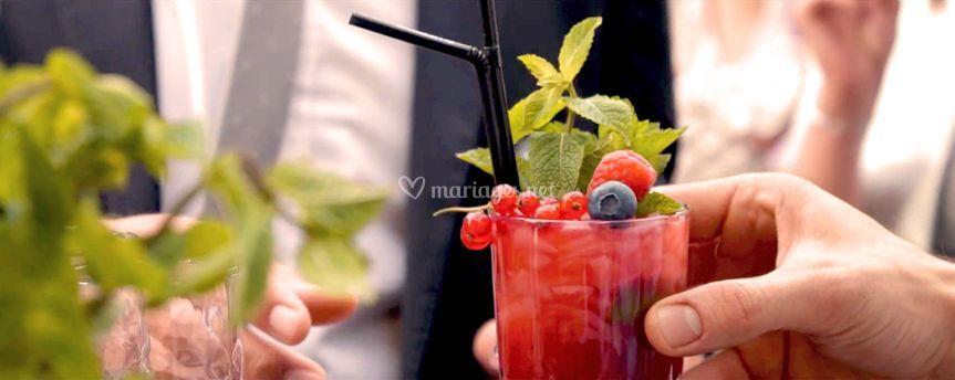 Cocktails groseille Framboise