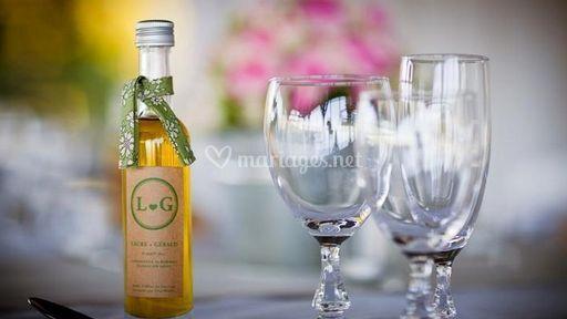 mariage sur mini bouteilles - Mignonette Mariage