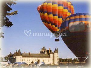 Envol montgolfière inoubliable