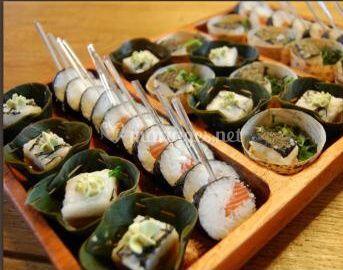 Buffet sushis