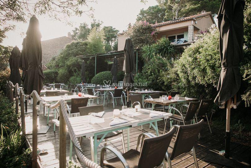 La terrasse du Bar du Soleil