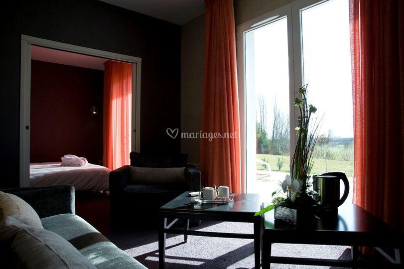 Maxi suite jeunes mariés - Hôtel du Golf d'Arras